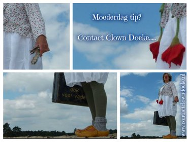 Contactclown Doeke - Clown in de zorg