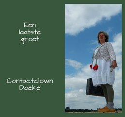 Contactclown Doeke - Clown in de zorg - Rouwclown