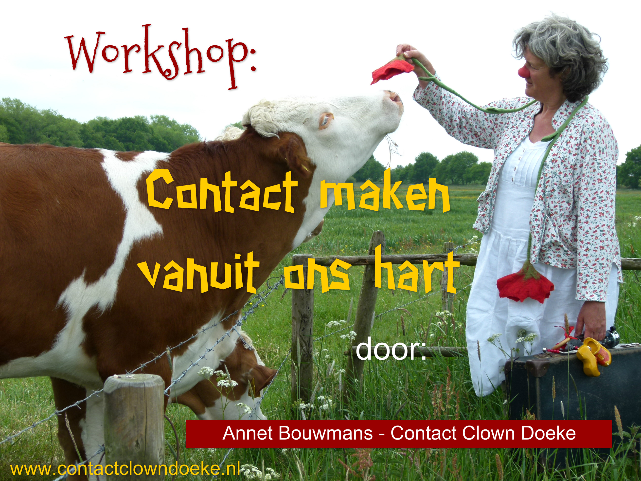 Contactclown Doeke workshops