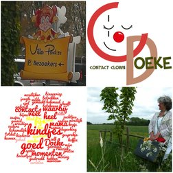 Contactclown Doeke - Clown in de zorg - Villa Pardoes - Rouwclown
